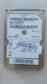 "SEAGATE 2.5"" 320 GB NOTEBOOK / LAPTOP HARDDISK 540 İzmir"