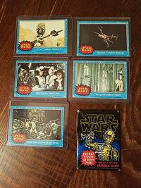 1977 Star Wars 1st edition Trading card collection Wilmington, 28401