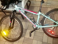 gray hardtail bicycle 536 km