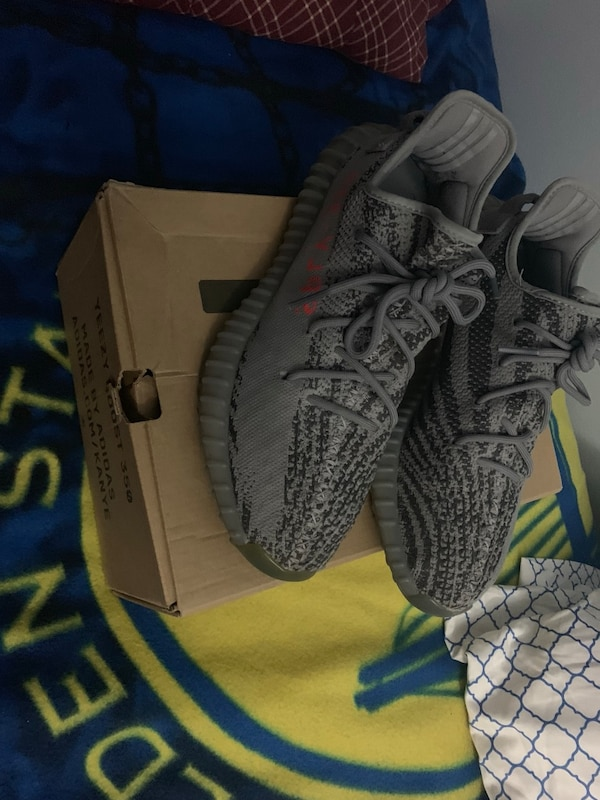 62d8b3006 Used yeezy 350 belugas size 10 for sale in New York - letgo