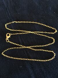 """18"""" YELLOW GOLD FILLED NECKLACE Sparks, 89441"""