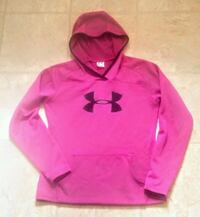 pink and black Under Armour pullover hoodie 542 km