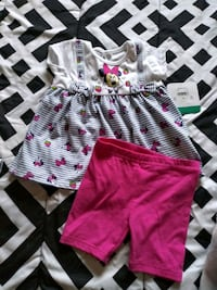 Brand New Baby Girl Minnie Mouse Outfits St. Cloud