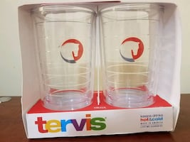 Tervis Clear 16oz Tumblers - 2 Pack