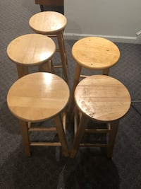 Wooden stools  Ashburn, 20147