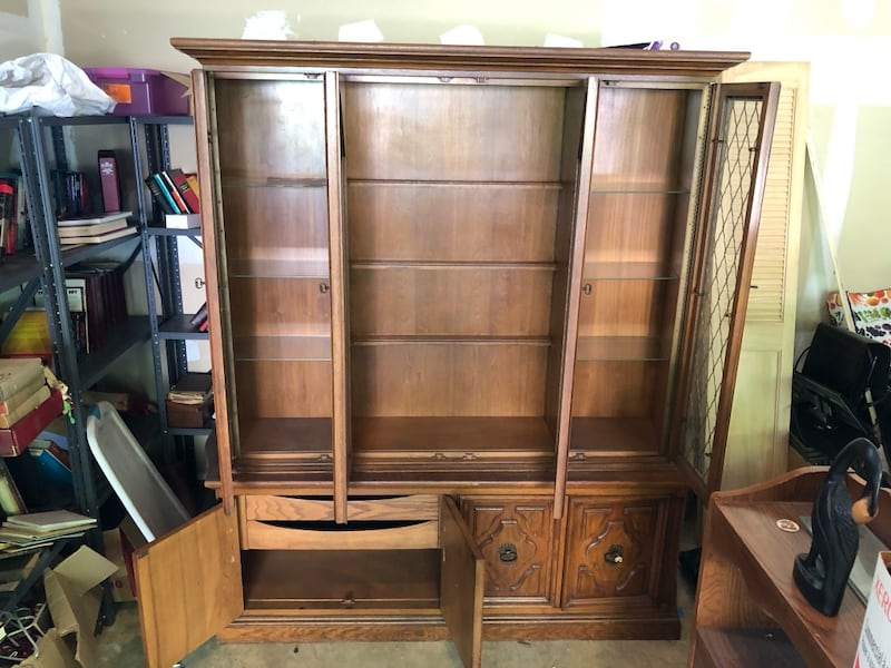 Antique China cabinet 2