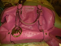 pink leather 2-way handbag Plant City, 33565