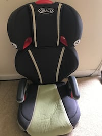 GRACO CAR SEAT BOOSTER TODDLER INFANT GREEN CLEAN