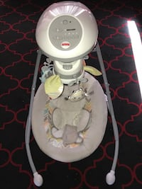 baby's white and gray cradle n swing Sacramento, 95823