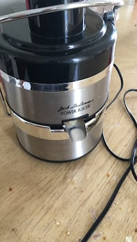 stainless steel and black Kitchen Aid stand mixer Toronto, M1P 3B7