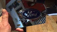 Ford chrome vanity tag  42 mi