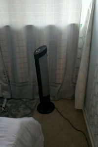 black and gray floor lamp Toronto, M3C