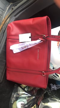 red leather 2-way bag Solsberry, 47459