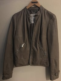 Women's leather jacket, size small