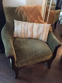 brown and gray fabric sofa chair Toronto, M1L 4S5