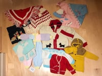 Hand knit baby toddler