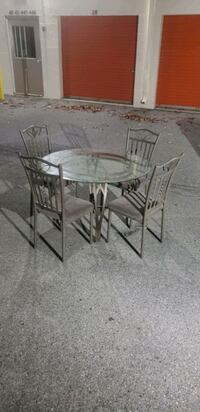 Glass 4 Chair Dinning table Germantown, 20874