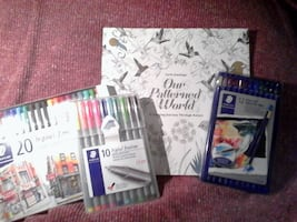 Our Patterned World - A coloring journey through n