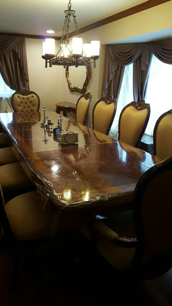 Used Aico Amini Palais Royale Dining Room Set For Sale In Inkster