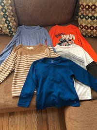 Boys long Sleeve Tops - Size 4/5 Whitby, L1P 1N8