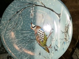 12 days of Christmas  plates.. all signed..