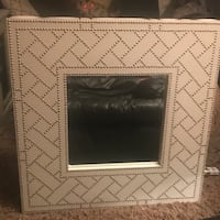 White studded mirror-3 feet square Winchester, 22602