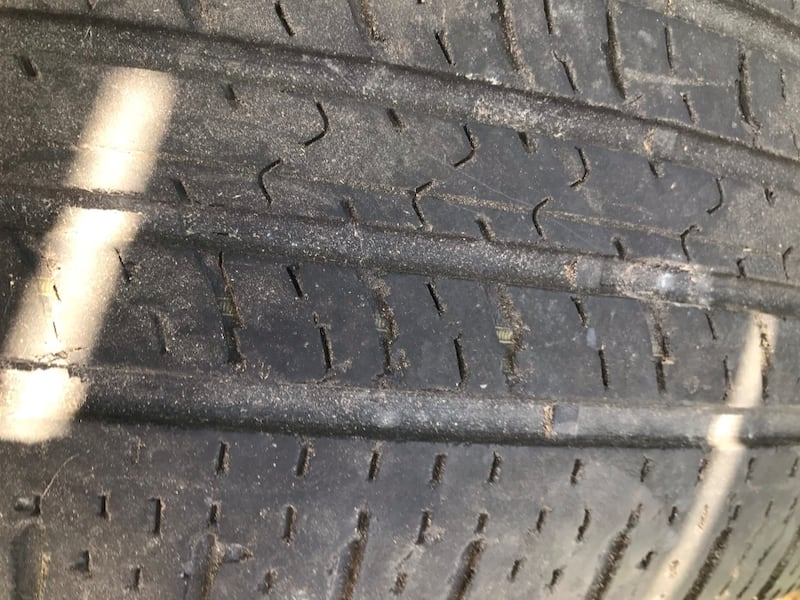 REDUCED .. 4 Used tires 225/55/19 deabc860-3c20-4bea-a547-08cf0f35d4db