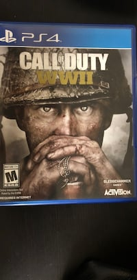 Call of Duty World War II ps4 game case Federal Heights, 80260