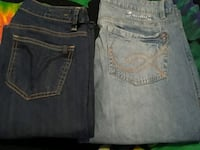 Two pairs of NEW JEANS Buffalo   Red Deer, T4P