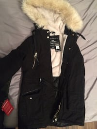 black and brown parka jacket Winnipeg, R2W 1Y2