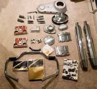 HARLEY DAVIDSON parts new chrome Dumfries, 22025