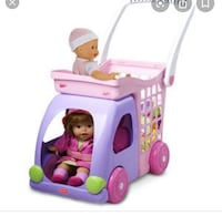 Fisher-price little mommy ride n drive shopping cart Richmond Hill, L4E 2V3