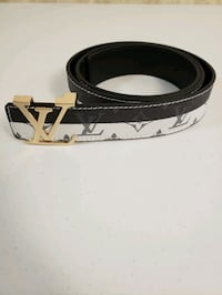 Louis Vuitton leather belt size 32 to 36 inch  Vancouver, V6B 3N6