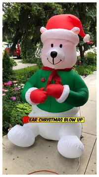 SALE Bear Christmas Blow Up 6ft Oakville, L6H 3M6