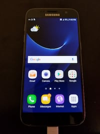 Samsung Galaxy S7 Unlocked - 32 GB - BLACK - 10/10 condition like NEW - FIRM price - PICKUp only Mississauga