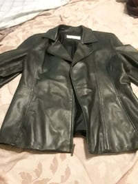 Liz Clauborne Leather Jacket size L Maxton, 28364