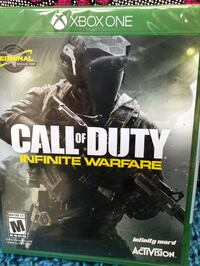 Call of duty infinite warfare xbox one game. brand new - this retails for 39.99 or 44.99 in stores. sealed! includes bonus terminal map! eb games is selling used copies for 39.99. Meet downtown