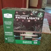 Patio lights never been opened Ogden, 84403