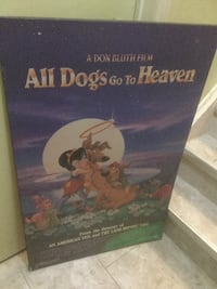 ALL DOGS GO TO HEAVEN POSTERBOARD..