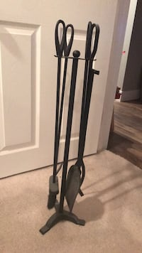 Fireplace tools with stand Mount Airy, 21771