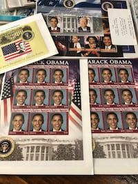 Obama stamp Collection 50$ or best offer Knoxville, 21758