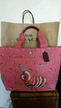 Authentic new Coach x Fisher Price tote bag Toronto