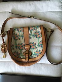 Beautiful fósil leather cross body purse  Kitchener, N2E