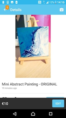 My Mini Abstract Painting