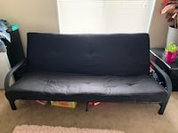 Black futon with metal frame Fairfax, 22030