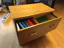 Wood Filing Cabinet Lateral File
