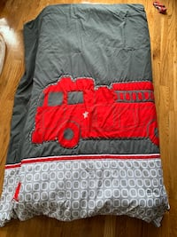Fire truck comforter - crib sized Washington, 20016