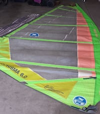 North Prisma 6.0 Windsurfing Sail 3 Cambers