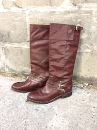 Brown Leather Dolce Vita High Boots