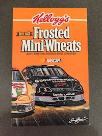 Dale Earnhardt Frosted Mini-Wheats Box !! Parkville, 21234